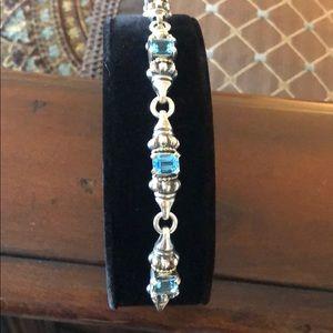 Lagos Blue Topaz Caviar Bracelet